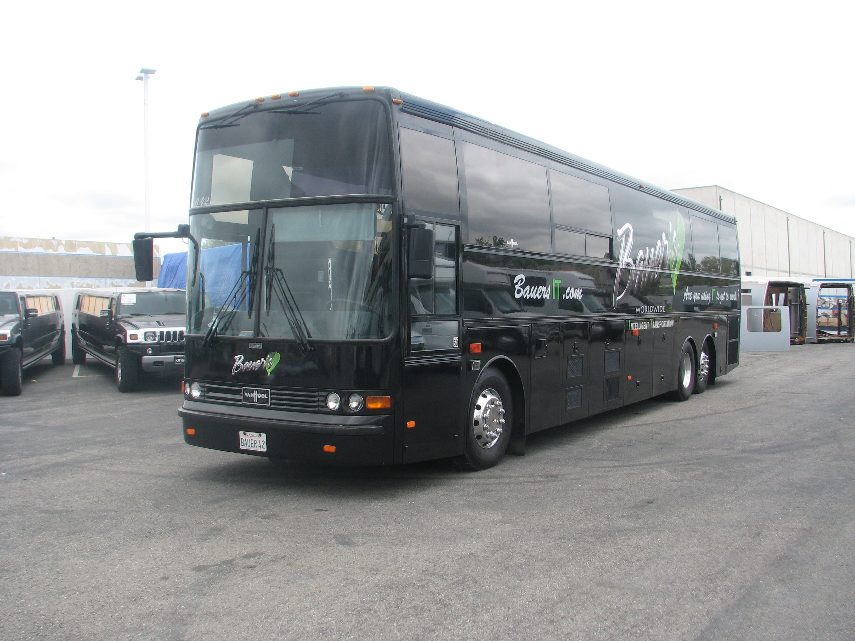 1998 Van Hool T945 Executive Day Coach Tailgating Bus